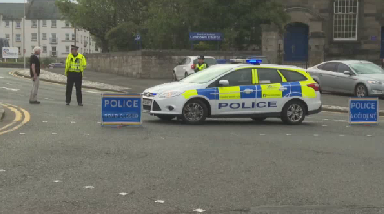 Kirkcaldy: A 47-year-old woman was injured.