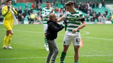 Tierney had a great connection with Celtic fans.