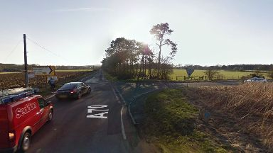 Crash: The incident happened on the A70.