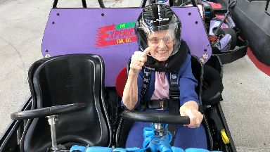 Old age won't stop us from living life in the fast lane