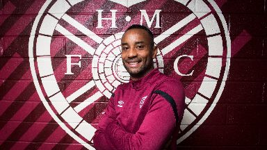 Loic Damour is Hearts' latest signing.