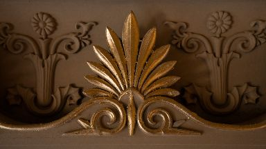 Decoration: It is hoped that more rooms will be returned to their original schemes.