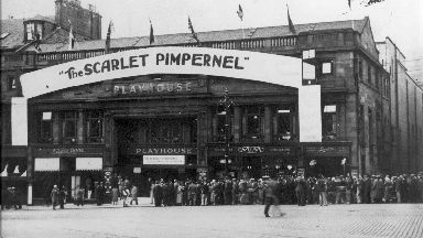 The Playhouse hosted the The Scarlet Pimpernel in 1935.
