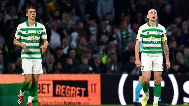 Celtic were on the end of a Champions League upset.