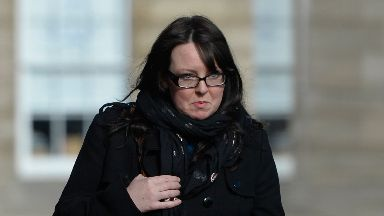 Court: Natalie McGarry was jailed for 18 months.