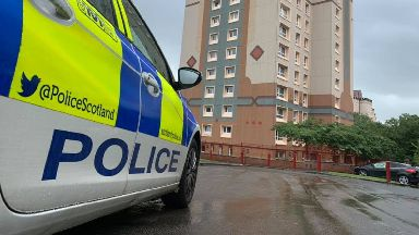 Motherwell: Two people have been charged.
