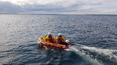 RNLI: A major rescue operation was launched.