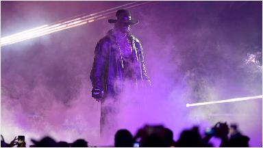 The Undertaker: Former champion coming to Scotland.