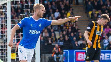 Helander is in Rangers' Europa League squad.
