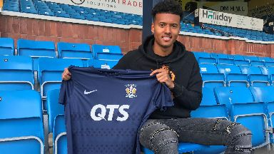 Kilmarnock have signed up another new recruit.