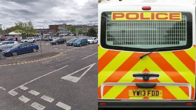 Falkirk: Police were called to the station.