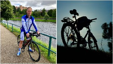 Ultracyclist: Will MacLennan is gearing up for charity.