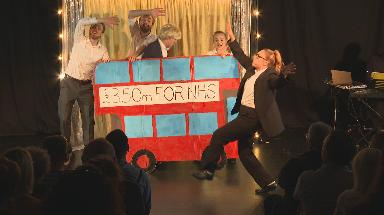 Musical: Satire takes aim at Brexit-era politics.