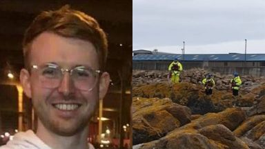 Ruairidh Sandison: His family have thanked those who have helped in the search.