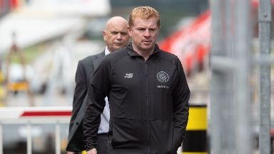 Neil Lennon: He insists his side will attack.
