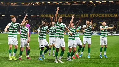 Celtic have reached the Europa League group stage.