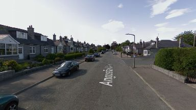 Aberdeen: The incident happened in Angusfield Avenue.
