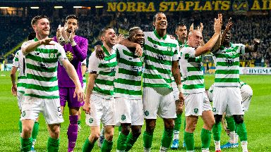 Celtic will face Lazio in the group stage.