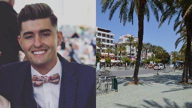 Ibiza: Gavin Roberton was punched.