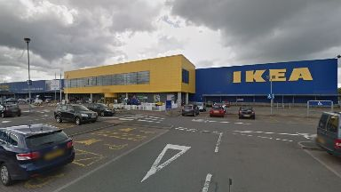 Glasgow: Ikea bosses were forced to bring in extra security.
