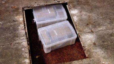 Hidden: The industrial unit was raided.