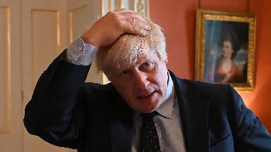 Boris Johnson: Government defeated 328 to 301.