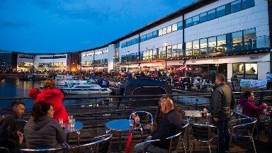 Marina: Kirkintilloch Canal Festival takes place every year.