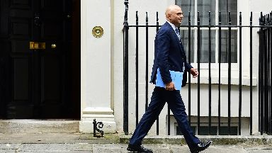 Sajid Javid: Chancellor lays out plans for pre-election spending spree.