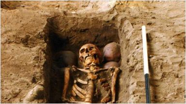 Mystery: Burial in the Highlands.