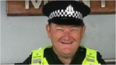 PC Roy Buggins: Died while on duty in Montrose.