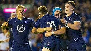 Try: Scotland's replacements played a huge part in the victory.