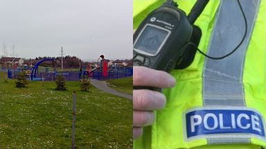 Glenrothes: The child suffered serious facial injuries.