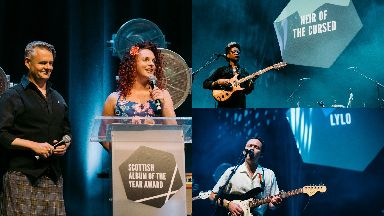 Edinburgh: There were live performances at the ceremony, which was hosted by hosts Vic Galloway and Nicola Meighan.