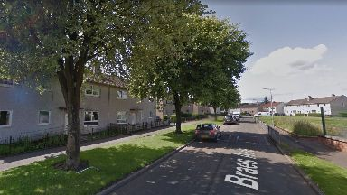 Clydebank: Police Scotland's Operation Masterwork targeted two houses in Braes Avenue.