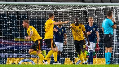 Belgium outclassed Scotland in their Euro 2020 qualifier.