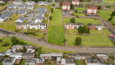 Just a handful of people live on the derelict estate.