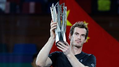 Murray is a three-time champion in Shanghai.
