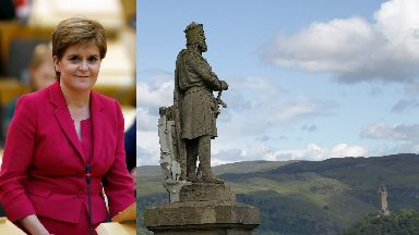 First Minister: Nicola Sturgeon addressed business leaders.