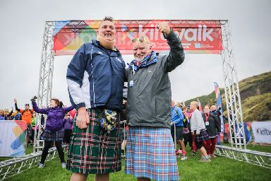 Kiltwalk: Doddie Weir and Tom Hunter helped raise millions.