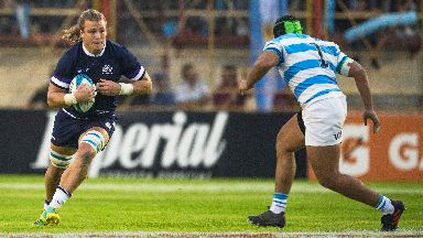 Denton last played for Scotland against Argentina last year.