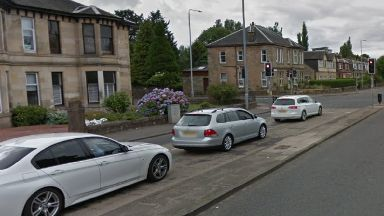Paisley: A 53-year-old man was seriously injured.