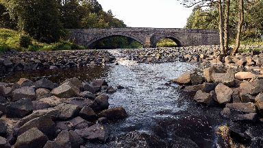 West Lothian: The ramp is one of eight projects on the River Almond.
