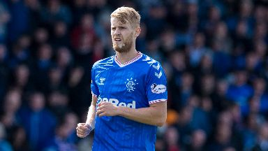 Filip Helander has been handed a starting spot.