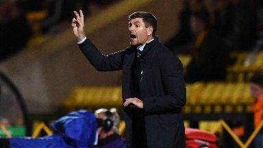 """Gerrard said his side showed """"courage and desire""""."""