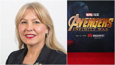 Lezley Marion Cameron claimed her taxi fare to see  Avengers: Infinity War.