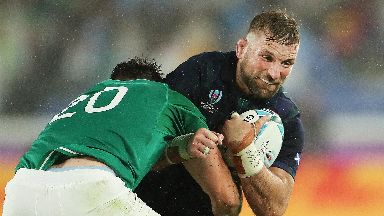 Scotland lost 27-3 in their opening World Cup game.