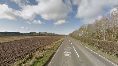 Fife: The crash happened on the A913 Cupar to Newburgh road.