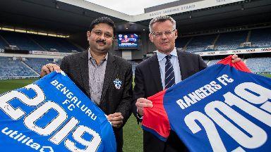 Rangers announced a partnership with Bengaluru.