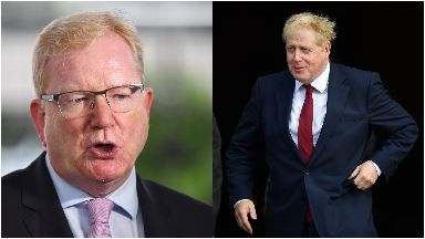 Carlaw: 'No IndyRef while Boris in PM'.