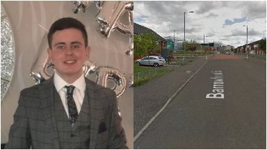 Liam Hendry: died after being struck by van.